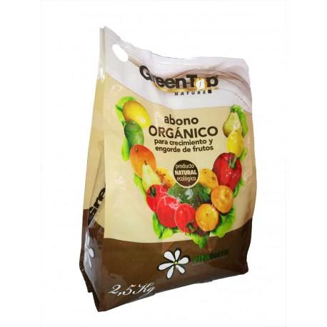 abono orgnico green top nature 25 kg vitaterra - Abono Organico