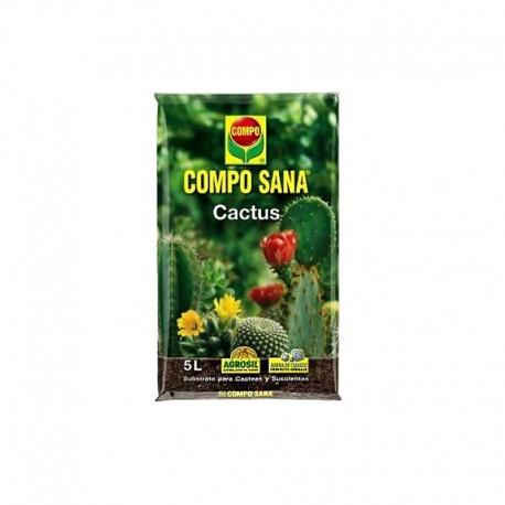 Sustrato para cactus Compo Sana® 5L.