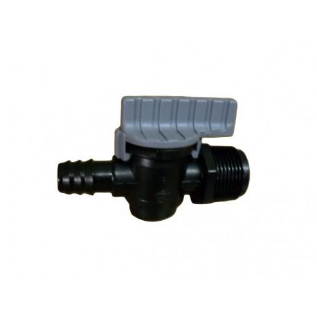 Válvula de goteo rosca M/T de 3/4 y 16 mm