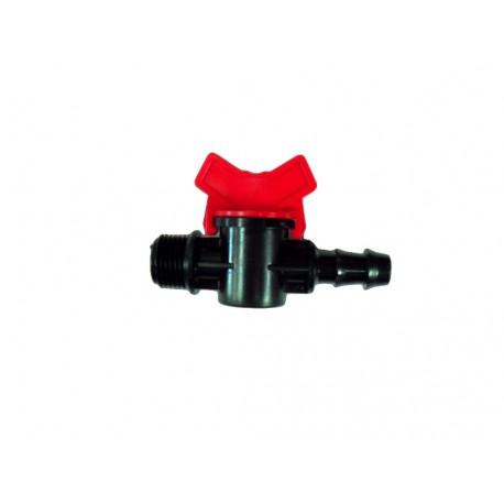 Válvula de goteo rosca M/T de 1/2, 16 mm