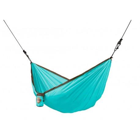 """Hamaca de viaje individual con sujeción """"Colibri Turquoise """""""