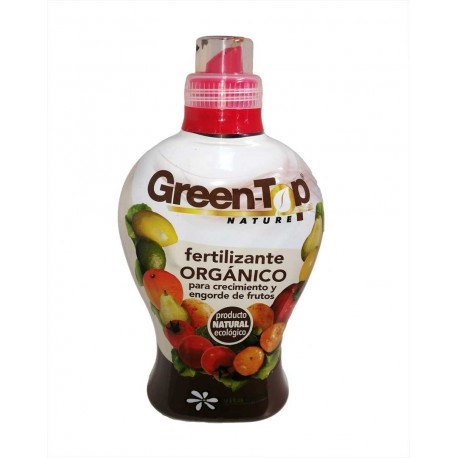 Fertilizante orgánico Green-Top Nature. 0.75 L. Vitaterra