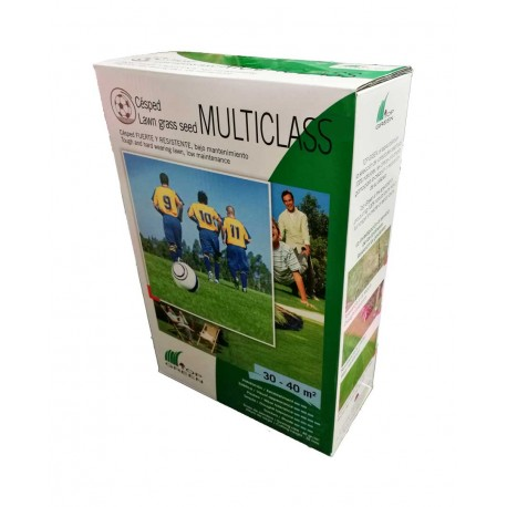 Semillas de césped Multiclass. Top Green