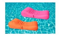 Tumbona hinchable piscina wave.