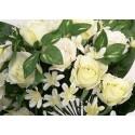 Bouquet de rosas. Flor artificial.