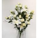 Bush de orquídea, flor artificial.