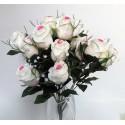 Bush de rosas, flor artificial.