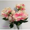 Bush magnolio, flor artificial.