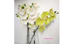 Orquídea phalaenopsis 70 cm. Flor artificial