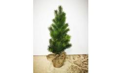Árbol Navidad con base de tela.