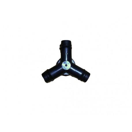 Conexión goteo en Y de 16 mm.