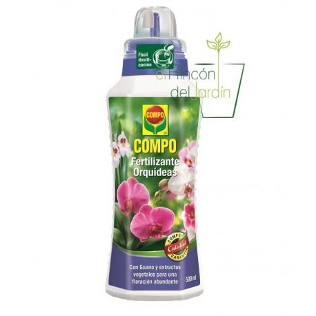 Fertilizante orquídeas compo 500 ml.