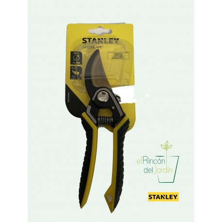 Tijera Podadora Bypass 19cm. Stanley