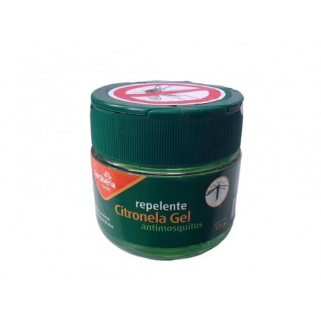 Repelente citronela gel antimosquitos 125gr.