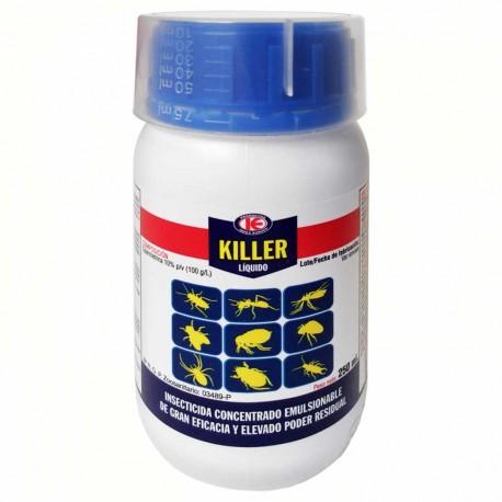 Insecticida Killer líquido 250 ml.