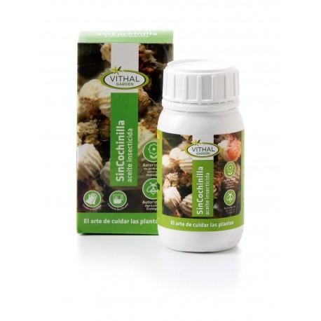 Sincochinilla aceite insecticida 250 ml. vithal Garden.