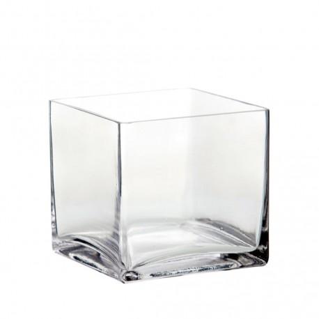 Portavela cristal cuadrado