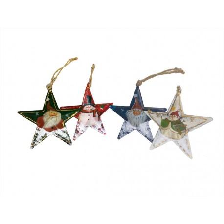 Estrella de colgar navidad.