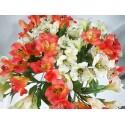 Vara Astromelias flor artificial.