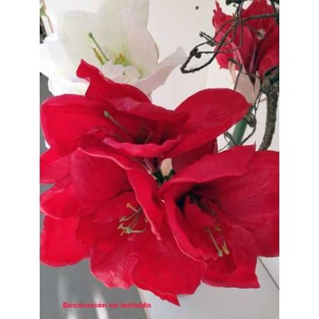 Vara Amarilis Flor artificial