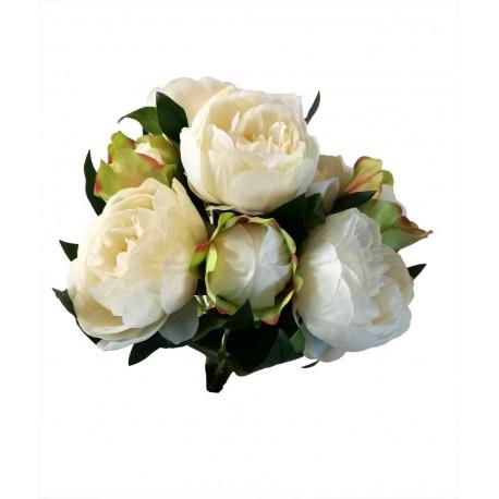 Ramo Peonías, flor artificial.